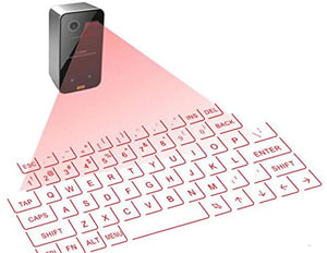 Bluetooth Laser Keyboard, Wireless, Virtual Projection, Portable Keyboard for Iphone, Android, Smart Phone, Ipad, Tablet, PC, Notebook