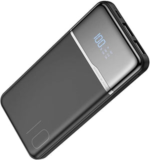 KUULAA Power Bank, 10000mAh, Portable Charging, USB External Battery Charger For Samsung, Xiaomi, iPhone and Other Smartphones