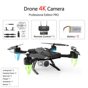 FPV Drone Quadcopter with Camera, Professional, Height Hold, 4K, GPS