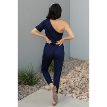 Load image into Gallery viewer, Arm And A Leg Jumpsuit In Navy