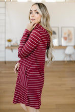 Load image into Gallery viewer, Casually Dressed Up Dress in Burgundy