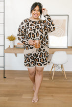 Load image into Gallery viewer, Chasing Sleep Lounge Set Shorts in Leopard