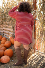 Load image into Gallery viewer, Cinnamon Striped Dress