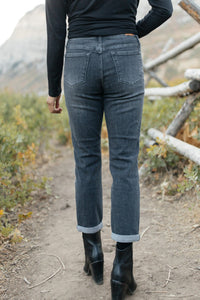 Fall Days Girlfriend Jeans