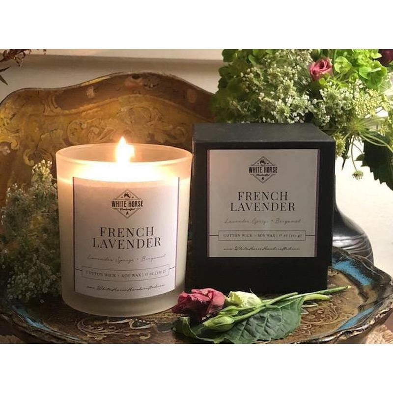 New French Lavender Candle