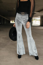 Load image into Gallery viewer, Get Your Groove On Velvet Bell Bottoms