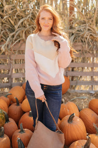 Melody Muted Chevron Sweater