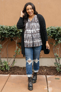 Million Dollar Coal Cardigan SMALL Only