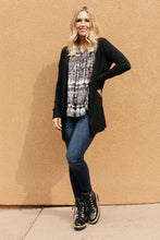 Load image into Gallery viewer, Million Dollar Coal Cardigan SMALL Only