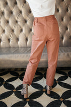 Load image into Gallery viewer, Peighton Paper Bag Pants in Camel
