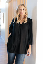 Load image into Gallery viewer, Professionally Casual Top in Black