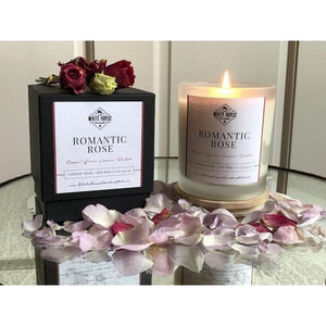 New Romantic Rose Candle