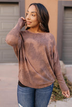 Load image into Gallery viewer, Slouchy Sleeve Top in Mocha