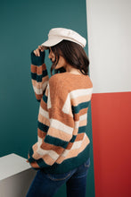 Load image into Gallery viewer, Striped Things And Winter Flings Sweater