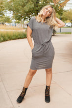 Load image into Gallery viewer, The Day Out Dress in Charcoal