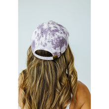 Load image into Gallery viewer, Bed Head Tie Dye Cap In Storm Gray
