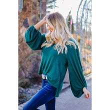 Load image into Gallery viewer, Emerald Fantasies Blouse
