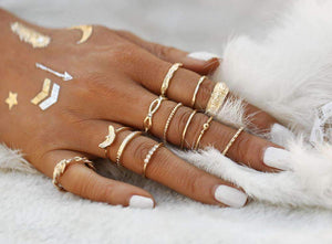 Golden Ring Set
