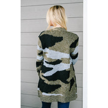 Load image into Gallery viewer, Lock & Load Camo Cardigan