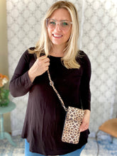 Load image into Gallery viewer, My Leopard Cross Body Purse
