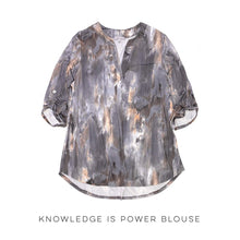 Load image into Gallery viewer, Knowledge is Power Blouse