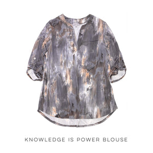 Knowledge is Power Blouse