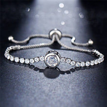 Load image into Gallery viewer, Crystal Tennis Bracelet