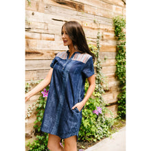 Load image into Gallery viewer, Wannabe Denim Dress