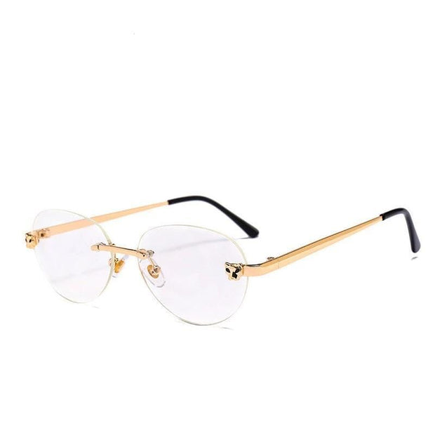 Blue Light Glasses | Circle Gold
