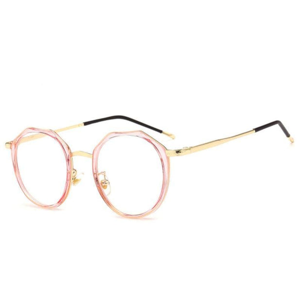 Blue Light Glasses | For Narrow Face Pink