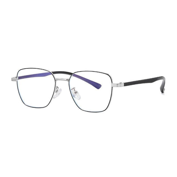 Blue Light | Reducing Glasses Black Silver