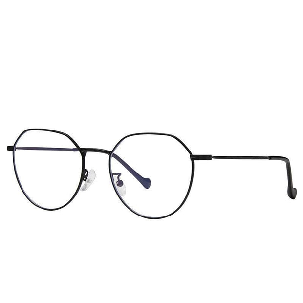Clear Frame | Blue Light Glasses Black