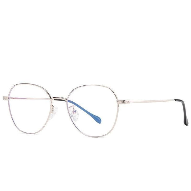 Non Prescription | Blue Light Glasses Silver