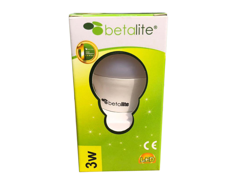 3 watt Betalite LED Bulb