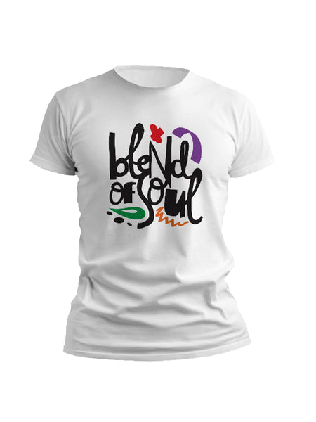Blend of Soul Tee - White
