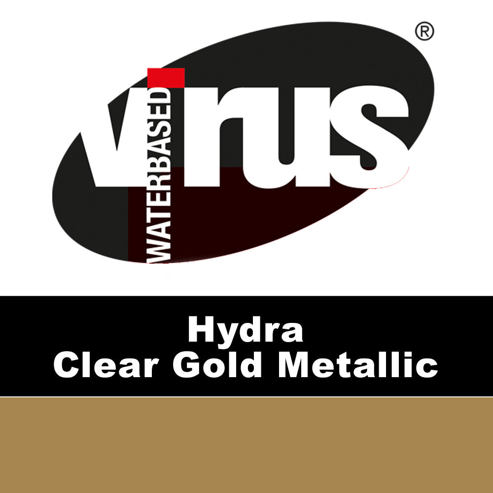 Hydra Clear Gold Metallic