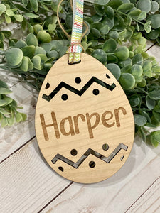 Easter Basket Tag Ornament