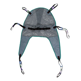 Universal Mesh Bath Patient Lift Sling with Head Support