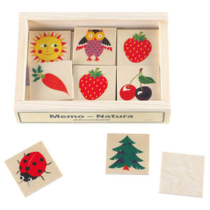 Swiss Wood Memory Game