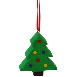 Swiss Wood Ornaments – Christmas Tree