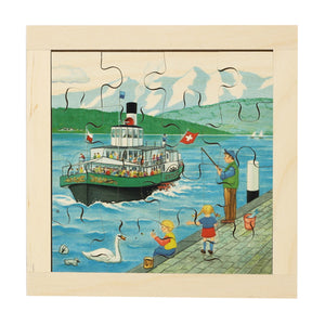 Swiss Lake Steamer Puzzle