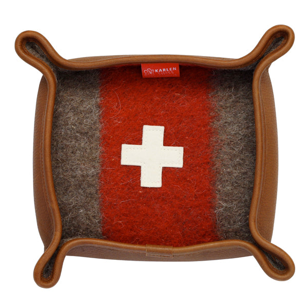 Swiss Army Blanket Valet Tray