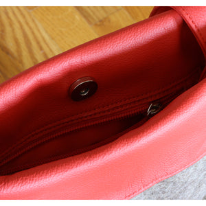 Swiss Army Blanket and Leather Messenger Bag
