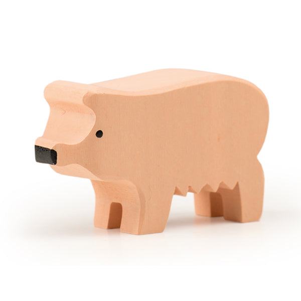 Swiss Wood Piggy