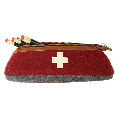 Swiss army blanket pencil case