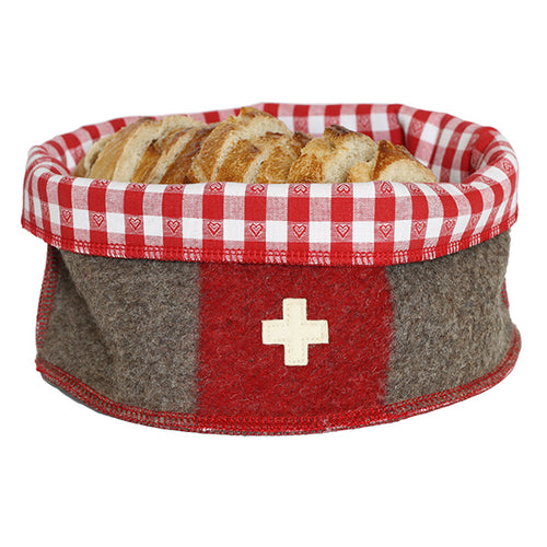 Swiss army blanket breadbasket