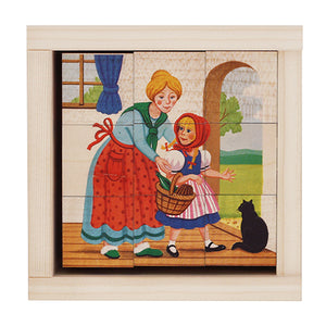 Swiss Little Red Riding Hood Puzzle