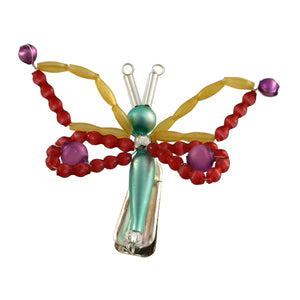Czech Glass Butterfly
