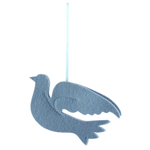 German Felt Ornament – Dove