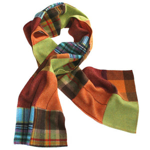 German Scarf - Patchwork